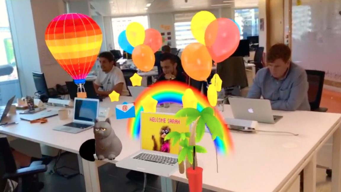 Creating effective onboarding experiences with AR