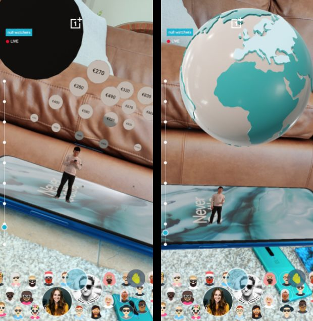 Making product launches and live events extraordinary using Augmented Reality