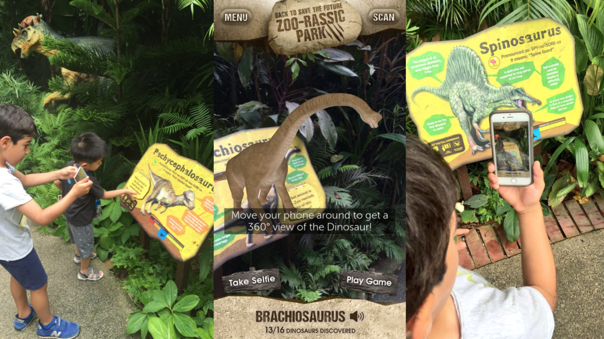 Case study: Enhancing the Singapore Zoo experience with AR