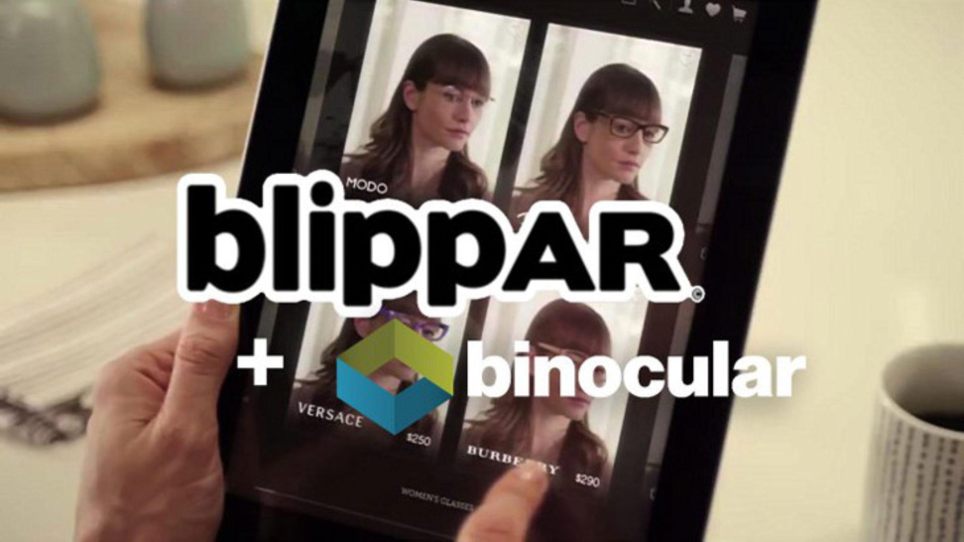 8eccfa191249 Blippar AR Platform Acquires Binocular To Dive Into The Virtual Try-On  TechCrunch.