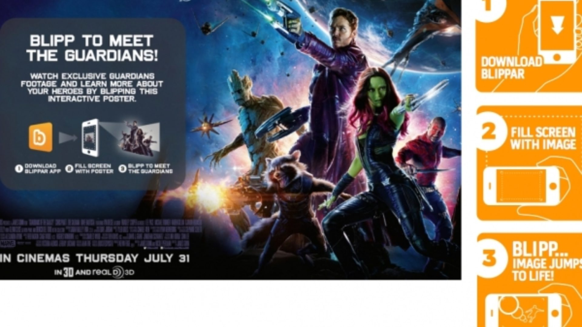meet the guardians of the galaxy they re hiding in this movie