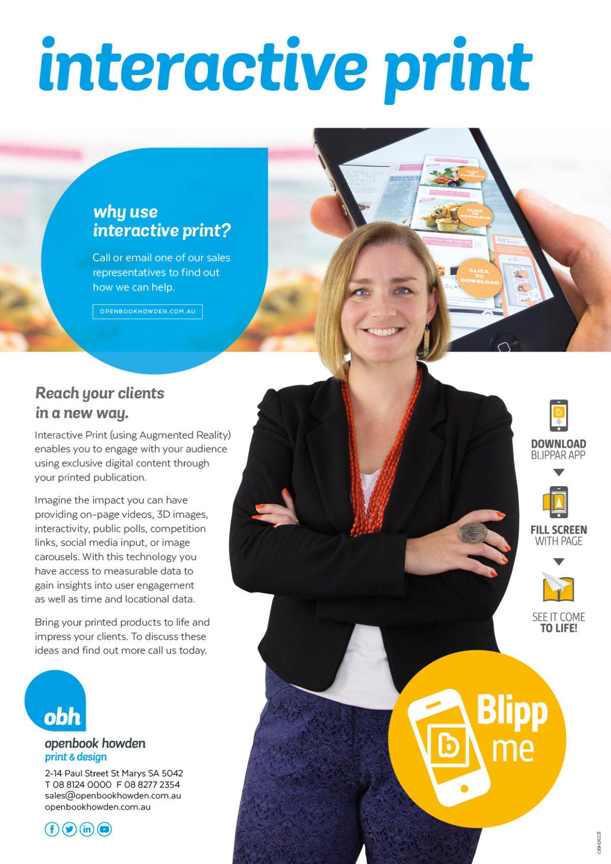 OBH Promotional AR Flyer